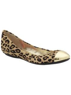 Ok, so I already have leopard flats but they don't have gold toes!! So I can still want these :)