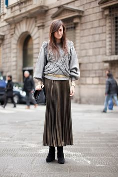 #streetstyle #style #fashion #streetfashion #pleats #pleated