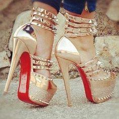 Bad red bottom heels