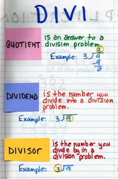 For introducing division and multiplication