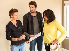 Team Jonathan: Planning the Design - Brother Vs. Brother: Photo Highlights From Episode 6 on HGTV