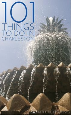 101 Things to do in Charleston, SC   In The Next 30 Days