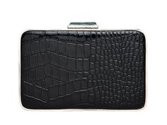 Black Leather Structured Handbags - Black Leather Bags and Accessories - Marie Claire