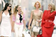 Charlotte York, Carrie Bradshaw, Miranda Hobbes, Samantha Jones from Sex and The City
