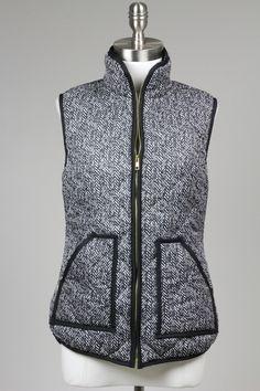 Herringbone Vest $58.00