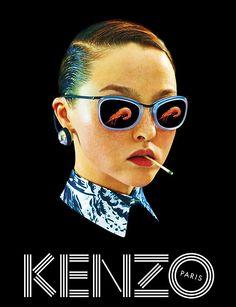Devon Aoki for Kenzo