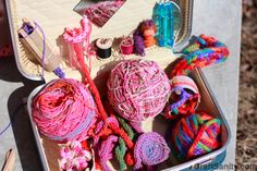 CraftSanity – A blog and podcast for those who love everything handmade » CraftSanity on TV: Spool Knitting For You And The Kids