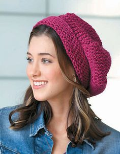 Ravelry: Slouch Hat pattern by Kathy Norris