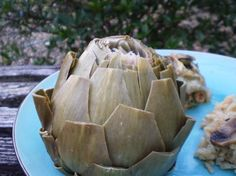 artichokes steamed in the microwave