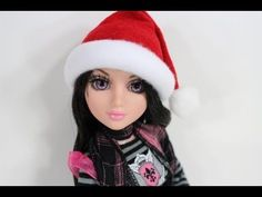 How to Make a Doll Santa Hat - MY Froggy Stuff