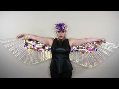 Lamé Wings ♥ DIY - YouTube