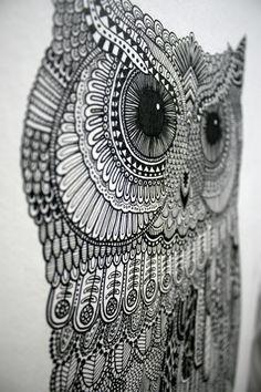 owl... cool tattoo idea
