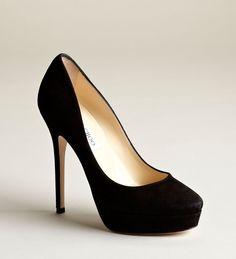 Fashion Project- Jimmy Choo- Classic Black Heel!