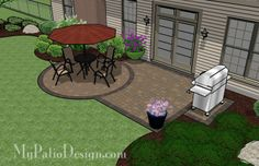 Patio+Ideas+On+A+Budget | Small Patio on a Budget | Patio Designs and Ideas