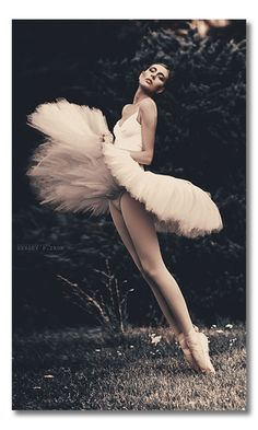 Regina Ducal, a ballet dancer. Vogue Italia. Published: Saturday, September 17, 2011. Photography by Sergey P. Iron