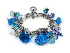 ocean blue glass