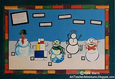 art history snowmen