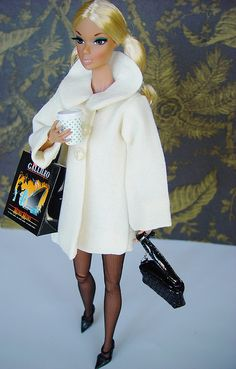 Aria shopping | Flickr  Barbie coat sewing idea.