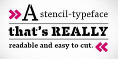 Brilliant #typeface