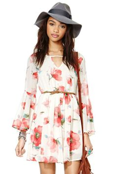 Go With The Floral Dress