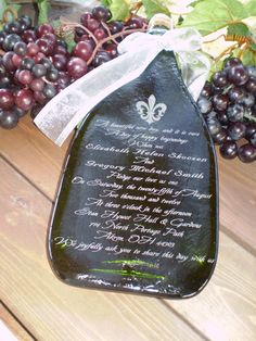 Wedding Invitation Champagne Bottle