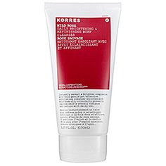 I use this with the overnight facial. Love.  Korres - Wild Rose Daily Brightening & Refining Buff Cleanser