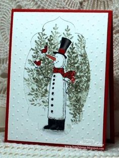 Snow Much Fun X 2 + Lovely as a Treeby Bonnie Klass aka bon2stamp