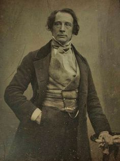 Charles Dickens, London, ca.1850