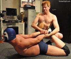 wrestling mens bondage retreat fantasy fights photographs