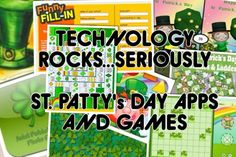 Apps / Tech of the Week: St. Patrick's Day Fu - pinned by @PediaStaff – Please Visit  ht.ly/63sNt for all our pediatric therapy pins