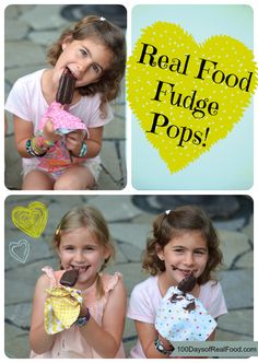 Recipe: Homemade Fudge Pops!