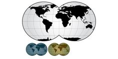 world map outline vector. too