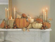 autumn dinner party ideas & decor