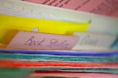 Make a Bible notebook « Do Not Depart
