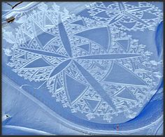 Simon Beck's Snow Art
