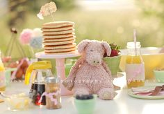 Pancake breakfast - darling for a slumber party