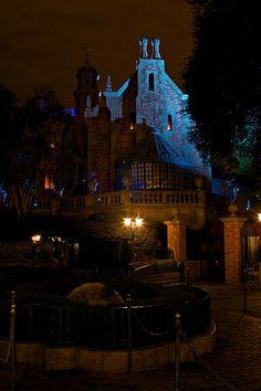 The Haunted Mansion at Disney World.