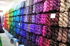 Cascade Yarns Blog. I want!