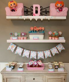 Lalaloopsy dessert table