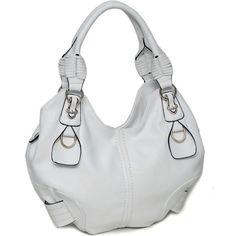 Purses White Hobo Bag Belted-purses, designer purses, white purses