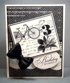 Happy Birthday- Two Challenges in One! by Julie Gearinger - Cards and Paper Crafts at Splitcoaststampers