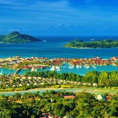 Seychelles.  I'm going to close my eyes and pretend I'm there.