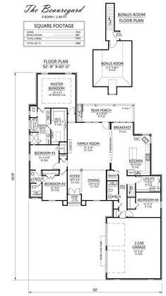 Madden Home Design - The Beauregard