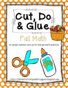 Cut, Do & Glue- Fall and Autumn Math