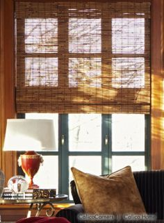 Kirsch Blinds from the Truffle Fabric Collection