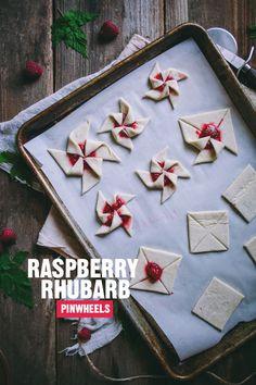 RASPBERRY RHUBARB PINWHEELS RECIPE