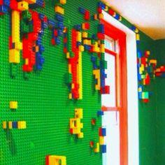Lego wall! Yes :)