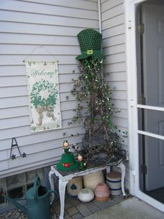 St. Patrick's Day ...grapevine tree