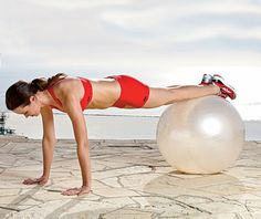 Stability Ball Workout Challenge