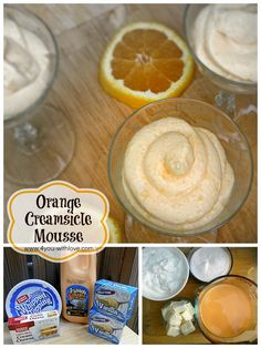 Orange Creamsicle Mousse - an easy no-cook dessert!  #ad #TruMooTreats